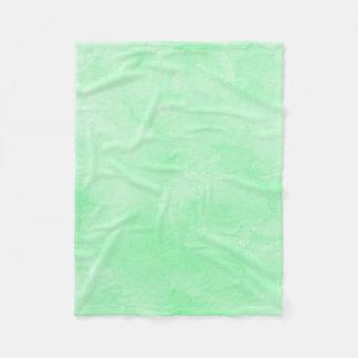 Tadelloser grüner Batik-reizender bewölkter Himmel Fleecedecke