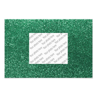 Tadelloser grüner Glitter Photographien