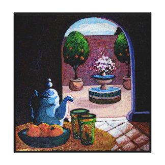 Tadelloser Tee Marokko Gespannte Galerie Drucke