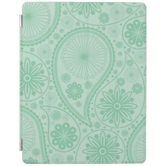 Tadelloses grünes Paisley-Muster iPad Smart Cover