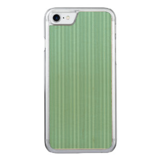 Tadelloses grünes vertikale Streifen-Muster Carved iPhone 8/7 Hülle