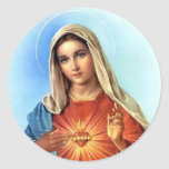 Tadelloses Herz Mary Sticker