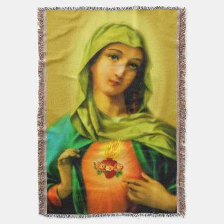 Tadelloses Herz von Jungfrau-Mary-Decke Decke