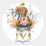 Tadelloses Herz von Mary Sticker