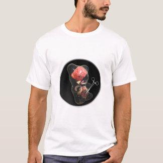 Tadelloses Konfektionsartikel-Weiß T-Shirt