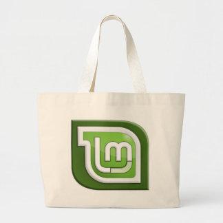 Tadelloses Logo Linuxs Jumbo Stoffbeutel