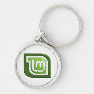 Tadelloses Logo Linuxs Schlüsselanhänger