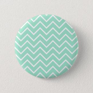 Tadelloses Zickzack Pastellmuster Runder Button 5,7 Cm