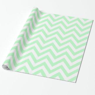 Tadelloses Zickzack Zickzack-Muster des Weiß-XL Geschenkpapier