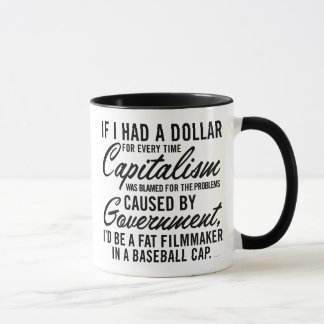 Tadeln der Kapitalismus-Tasse Tasse