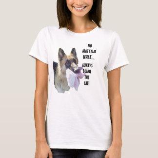 Tadeln Sie die Katze T-Shirt