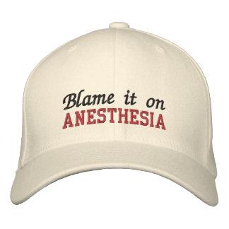 Tadeln Sie es auf Anästhesie Bestickte Baseballcaps