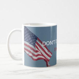 Tadeln Sie mich nicht |, das ich für politischen Kaffeetasse