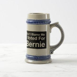 Tadeln Sie mich nicht, den ich für Bernie wählte Bierglas