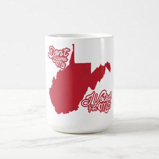 Tadeln Sie mich nicht, ich wählte für Mitt Romney Kaffeetasse