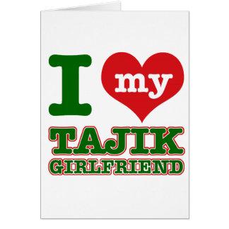 Tadschikistan-Ehefrau Karte