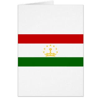 Tadschikistan-Flagge Karte