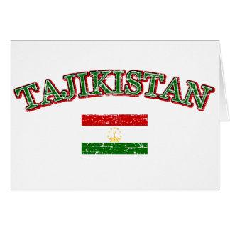 Tadschikistan-Fußballentwurf Karte