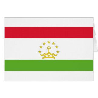 Tadschikistan-Staatsflagge Karte