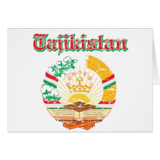 Tadschikistan-Wappen Entwürfe Karte