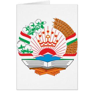 Tadschikistan-Wappen Karte
