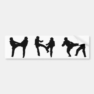 Taekwondo-Autoaufkleber Autoaufkleber