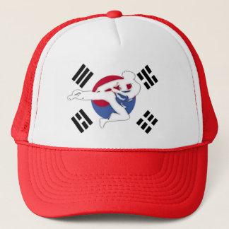 Taekwondo-Flyer-Hut, Ihre Wahl von Farben Truckerkappe