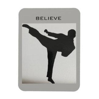 Taekwondo-Kühlschrank-Magnet Magnet