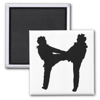 Taekwondo-Magnet Quadratischer Magnet