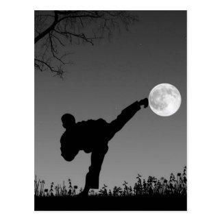 Taekwondo Postkarte