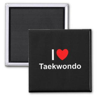 Taekwondo Quadratischer Magnet