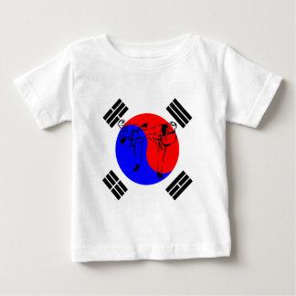 Taekwondo-Sportler Baby T-shirt