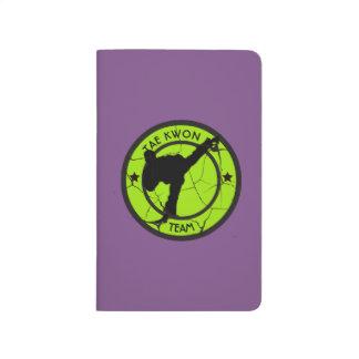 Taekwondo Taschennotizbuch