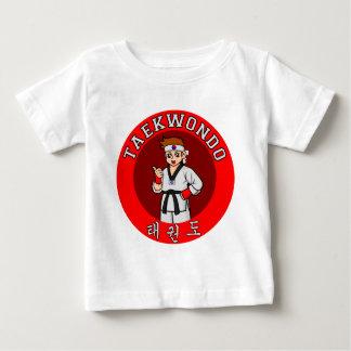 Taekwondo-Typ-Abzeichen 1 Baby T-shirt