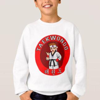 Taekwondo-Typ-Abzeichen 1 Sweatshirt
