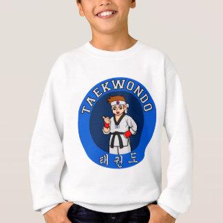 Taekwondo-Typ-Abzeichen Sweatshirt