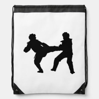 Taekwondodrawstring-Rucksack Sportbeutel