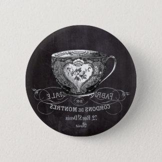 Tafel-Alice im Wunderlandtee-Party Teacup Runder Button 5,7 Cm