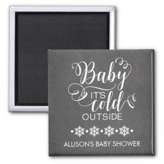 Tafel-Baby ist es kalter äußerer Quadratischer Magnet