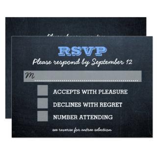 Tafel-blaue Bar Mitzvah UAWG Karte mit Zutritt 8,9 X 12,7 Cm Einladungskarte