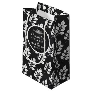 Tafel-Blumenblatt-Gastgeschenk Hochzeit Kleine Geschenktüte