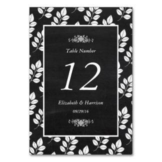 Tafel-Blumenblatt-Hochzeits-Tabelle nein