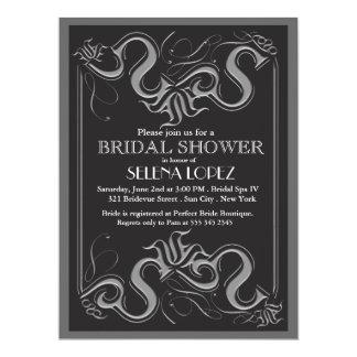 Tafel-Brautpartyeinladungen 16,5 X 22,2 Cm Einladungskarte