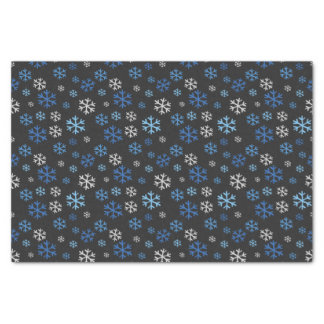 Tafel-Chanukka-Schneeflocken Seidenpapier