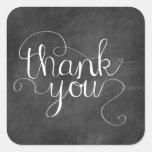 Tafel danken Ihnen Kalligraphie-Aufkleber