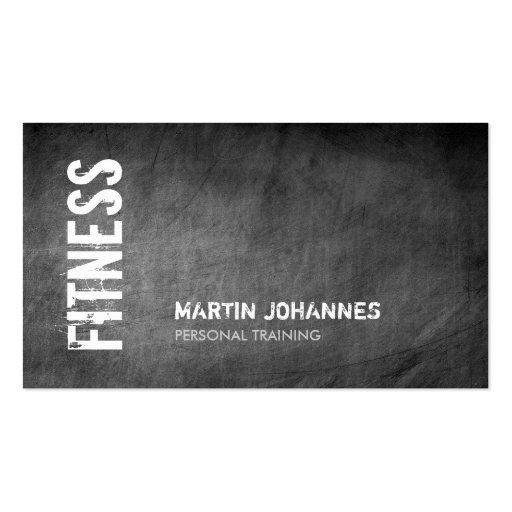 Tafel-Fitness-persönliche Trainer-Geschäfts-Karte Visitenkarte