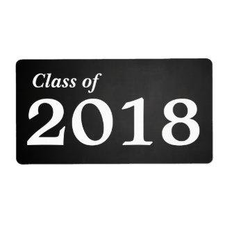 Tafel-graduierte Klasse 2018% pipe% der