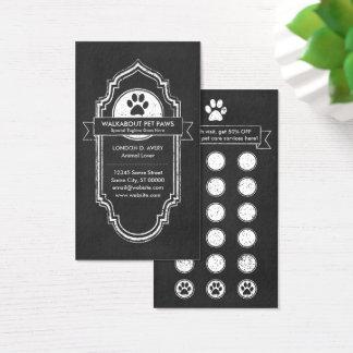 TAFEL-Haustiertatzen-Loyalitätsprogramm Visitenkarte