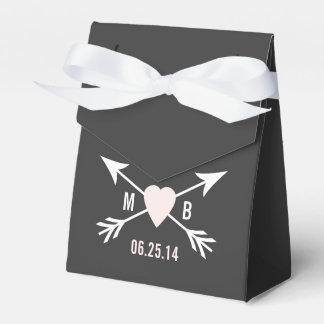 Tafel-Herz + Pfeil-Bevorzugungs-Kasten Geschenkschachteln