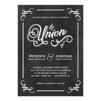 Tafel-Hochzeits-Einladung